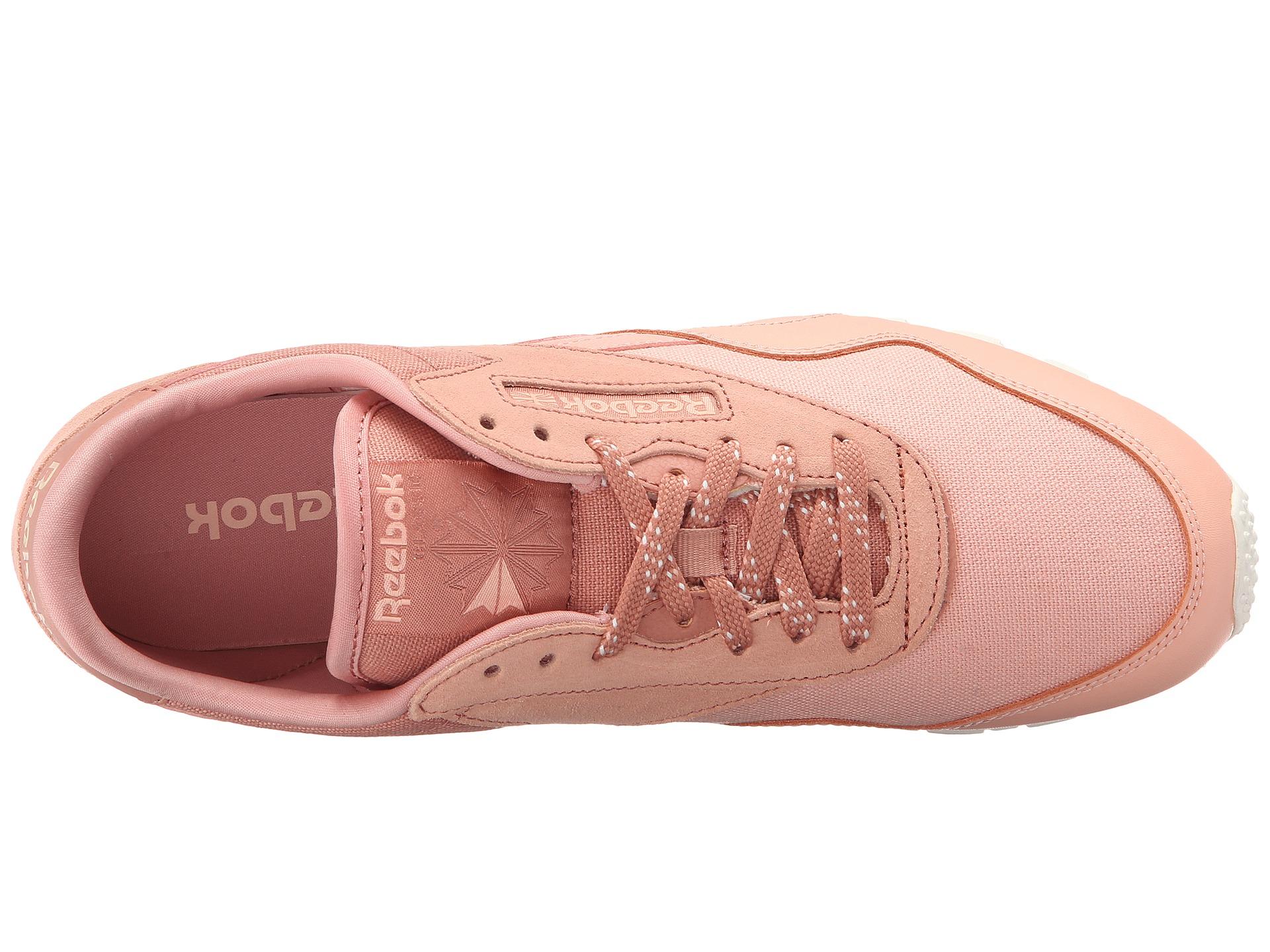 0f226d43aad2 Lyst - Reebok Classic Nylon Slim Core in Pink