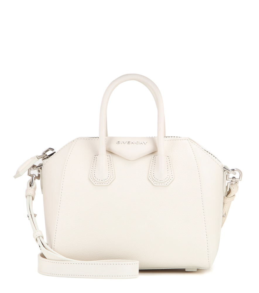 473a885a6abb givenchy store online - Givenchy Antigona Mini Leather Shoulder Bag in  White (neutrals)