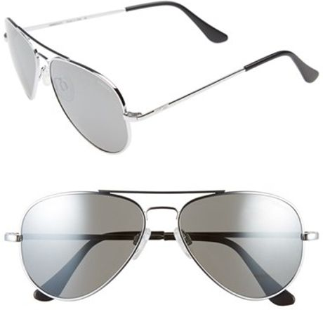 87f07275b01 Randolph Aviator Polarized Sunglasses - Chrome