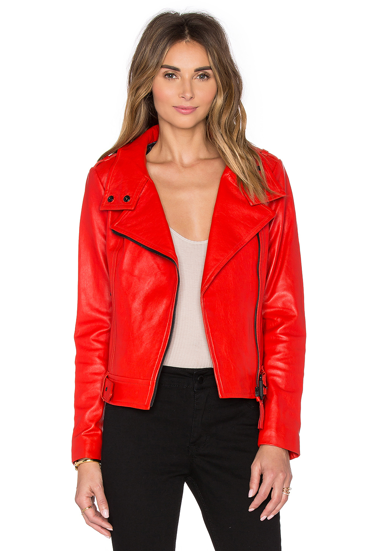 Mackage elie leather jacket