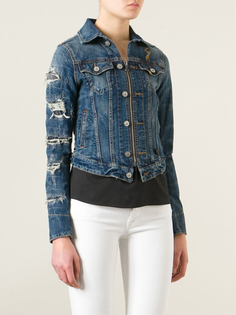 Vivienne westwood womens denim jacket