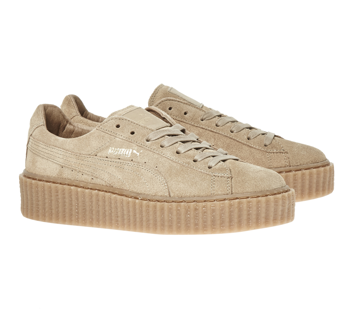 huge discount 35fdc 49c6a PUMA Metallic Suede Creepers