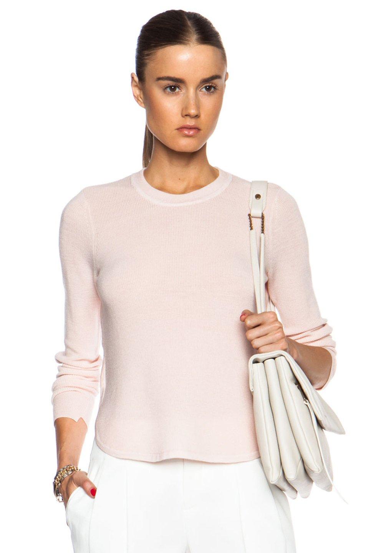 Wool Sweater Grey: A.L.C. Jayne Wool Sweater In Pink