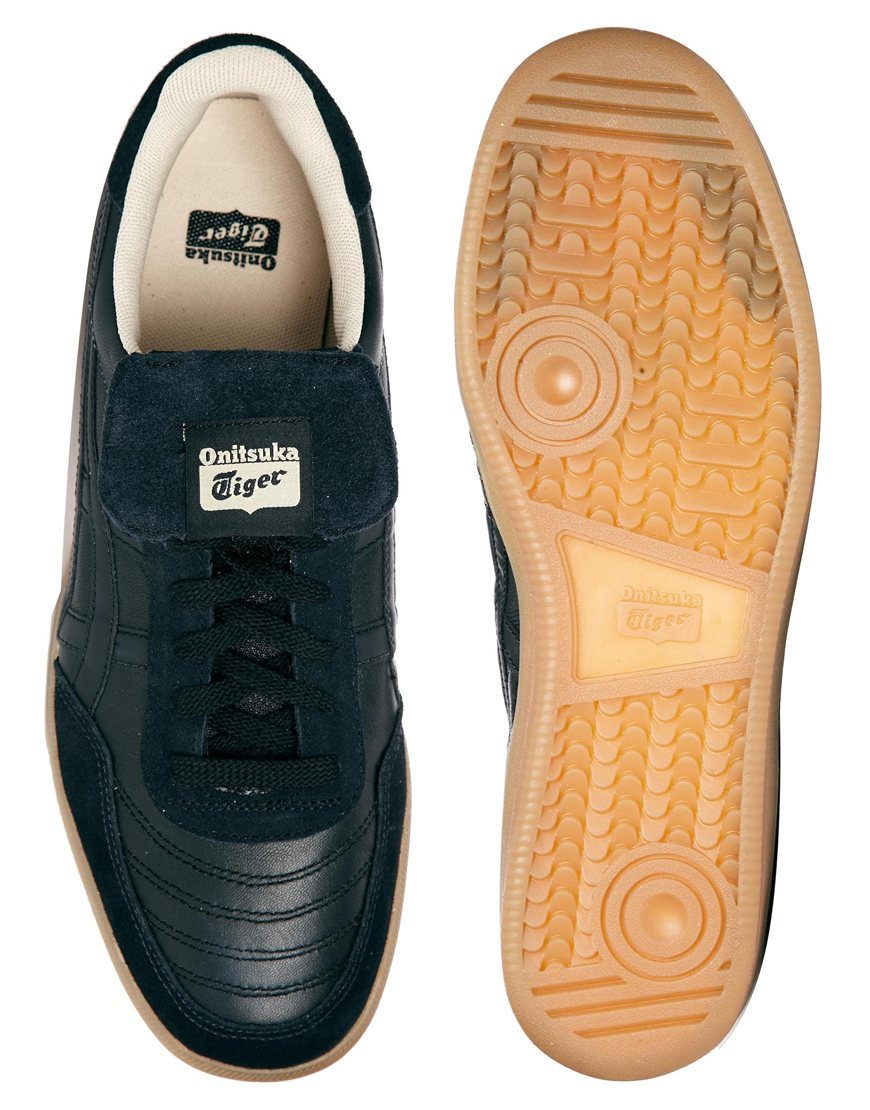 new concept 90f0c c6232 Onitsuka Tiger Hulse Trainers in Black for Men - Lyst