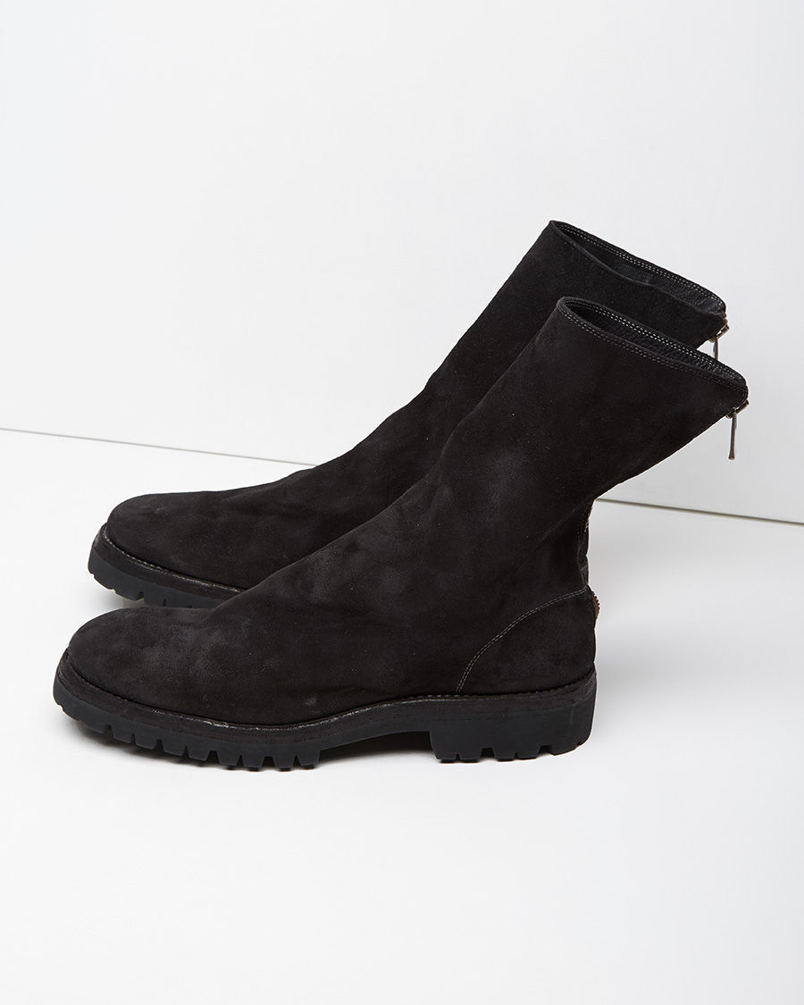 GUIDI Zipped ankle boots qgEcJ9rGc