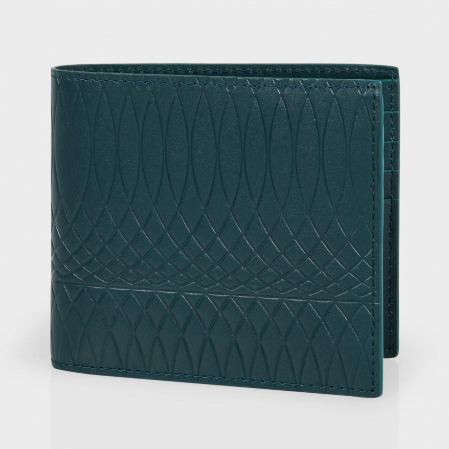 df8b5d9b2ca9 Paul Smith No.9 - Dark Petrol Leather Billfold Wallet in Blue for ...