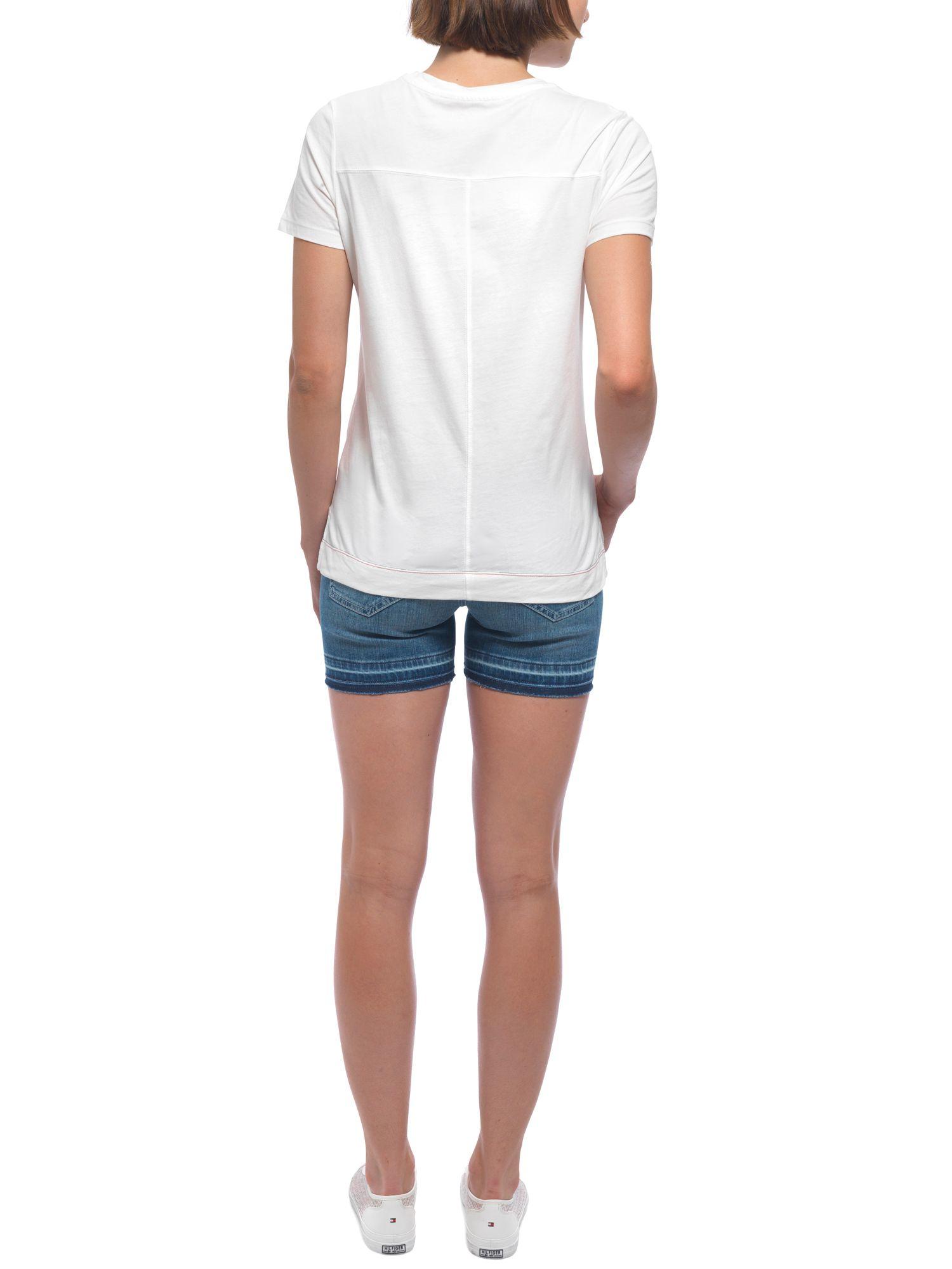 tommy hilfiger milan nadine shorts in blue lyst. Black Bedroom Furniture Sets. Home Design Ideas