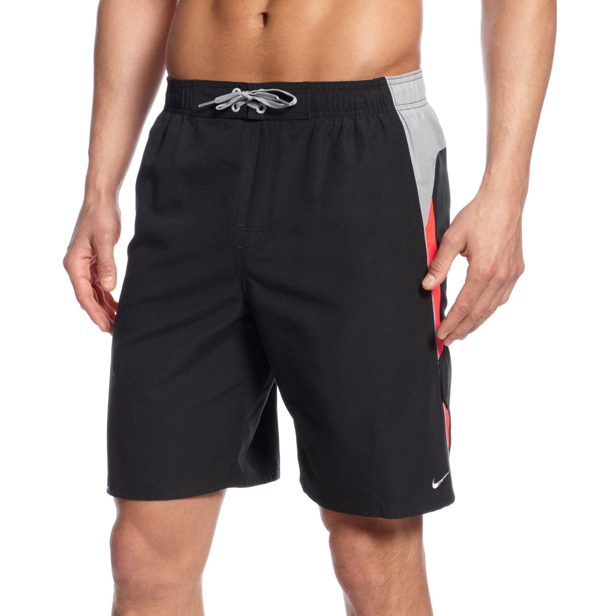 Nike Core Colorblocked 9 Volley Boardshorts in Black for ...