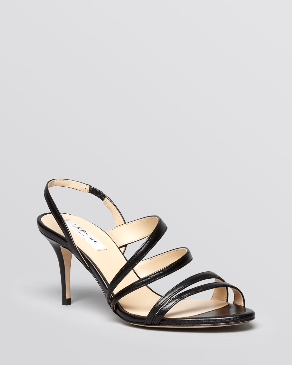 47c1ed41f85 Lyst - L.k.bennett Sandals - Addie Strappy Mid Heel in Black