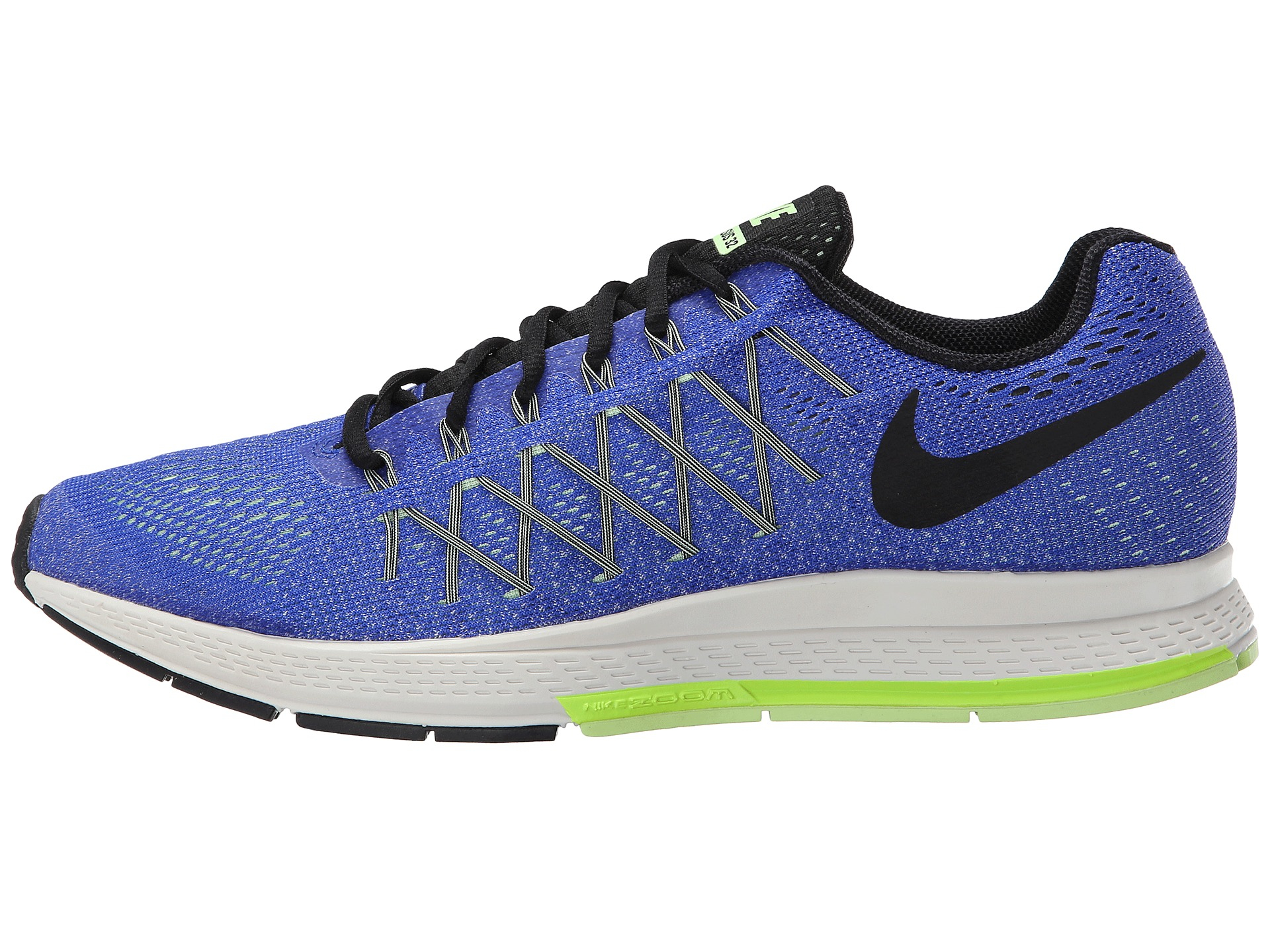 nike air zoom pegasus 32 in blue for men lyst. Black Bedroom Furniture Sets. Home Design Ideas