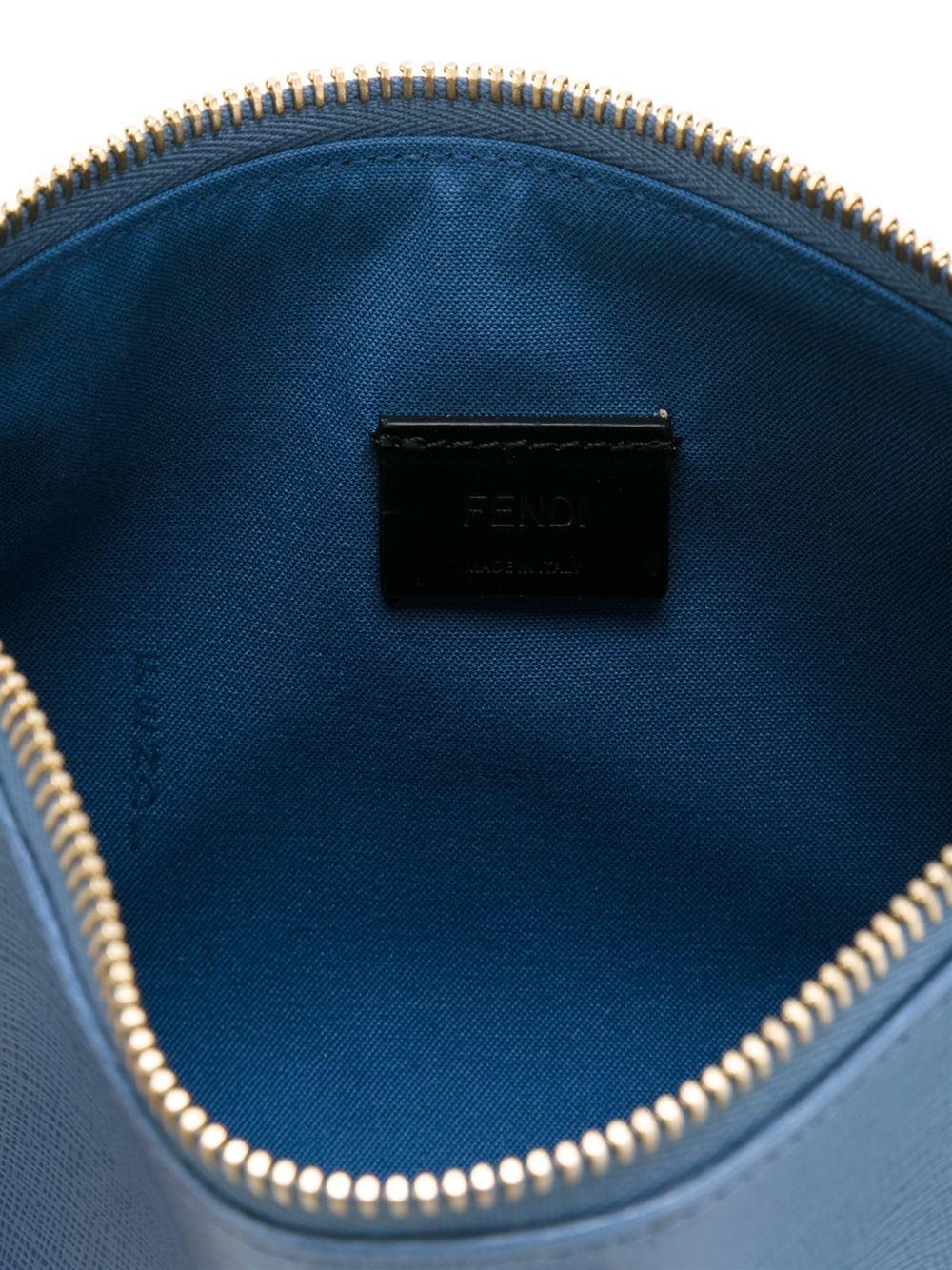 Fendi Micro 'crayons' Cross Body Bag in Blue