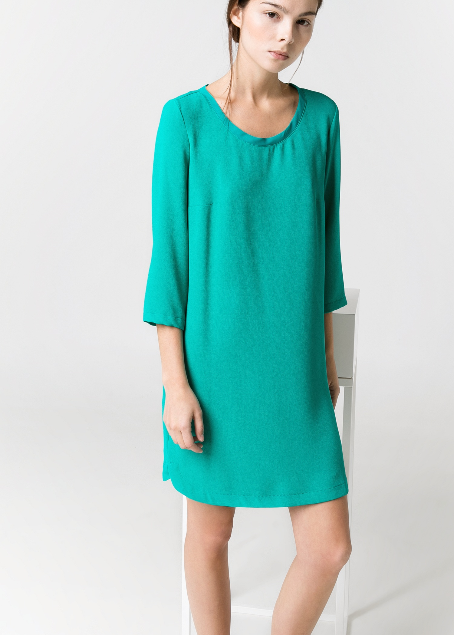 Short T Shirt Dress With Slits On Side Bcd Tofu House