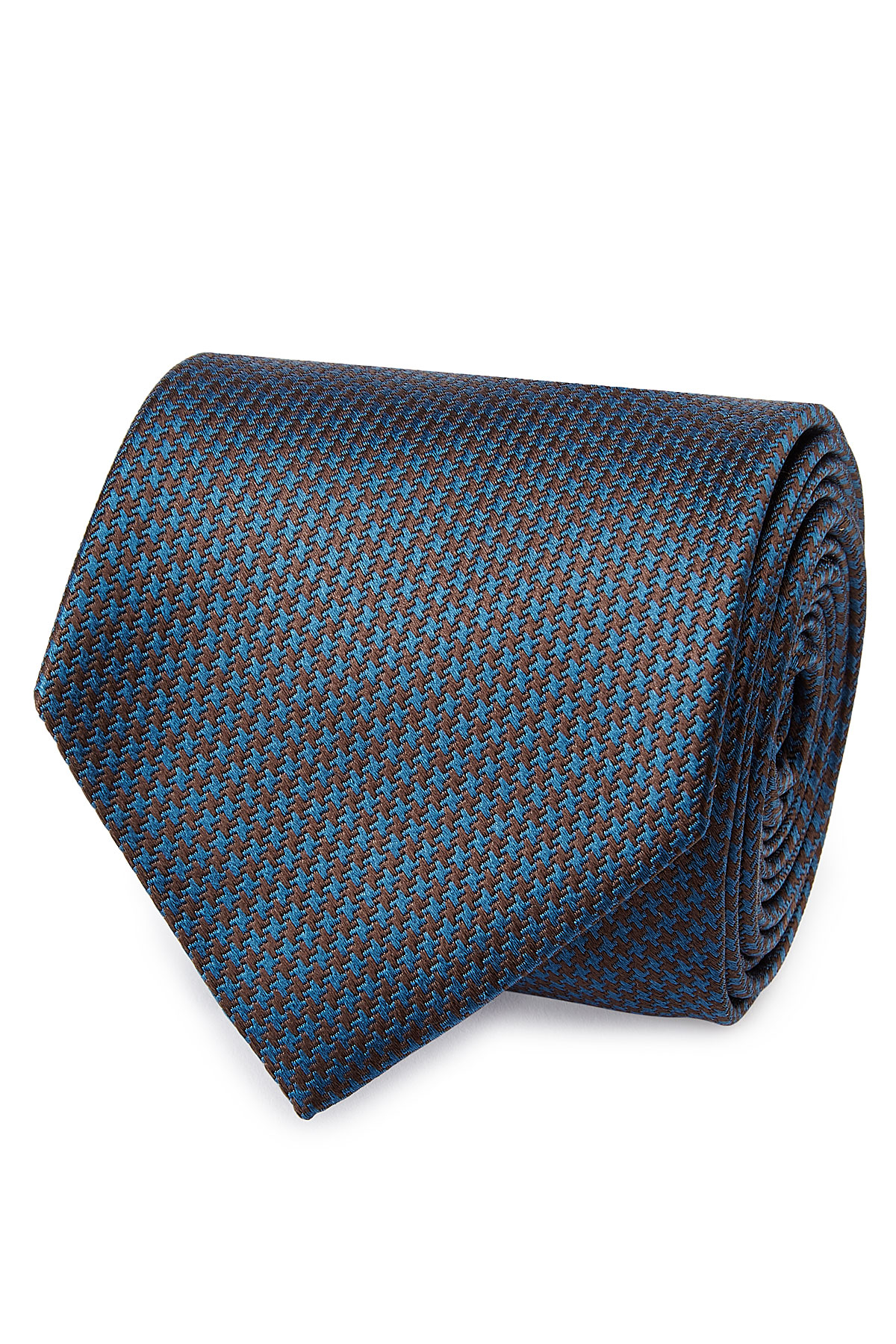 Brioni Woven Silk Tie Blue In Blue For Men Lyst