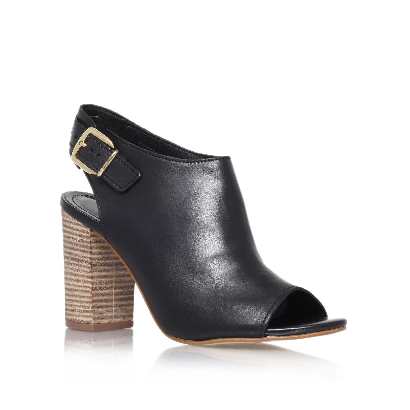 carvela kurt geiger asset high heel peep toe court shoes