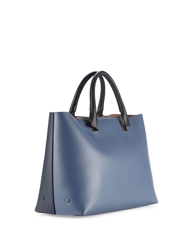 chloe knock off bags - Chlo�� Baylee Bicolor Tote Bag in Blue (NAVY) | Lyst