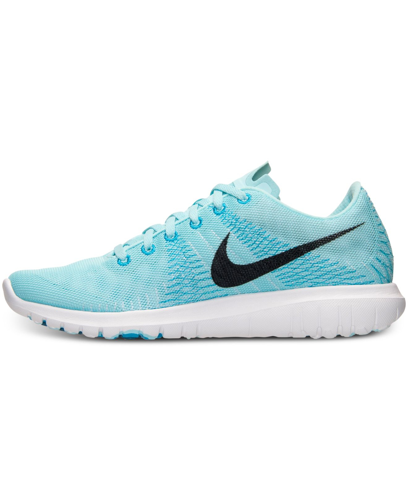 b50b345724f ... hot lyst nike womens flex fury running sneakers from finish line in  blue 62d8a 7141c ...