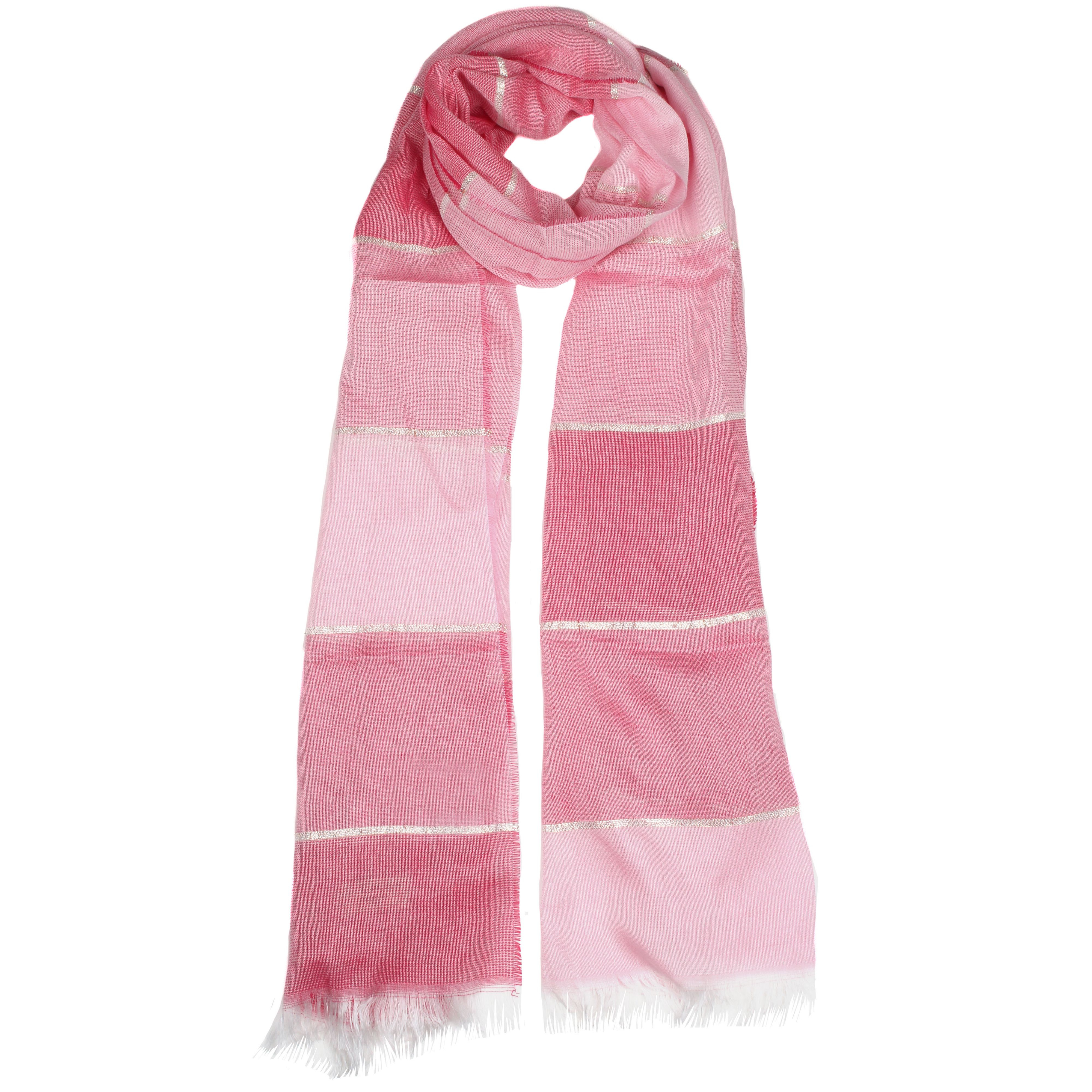 dents tonal striped woven scarf in pink lyst