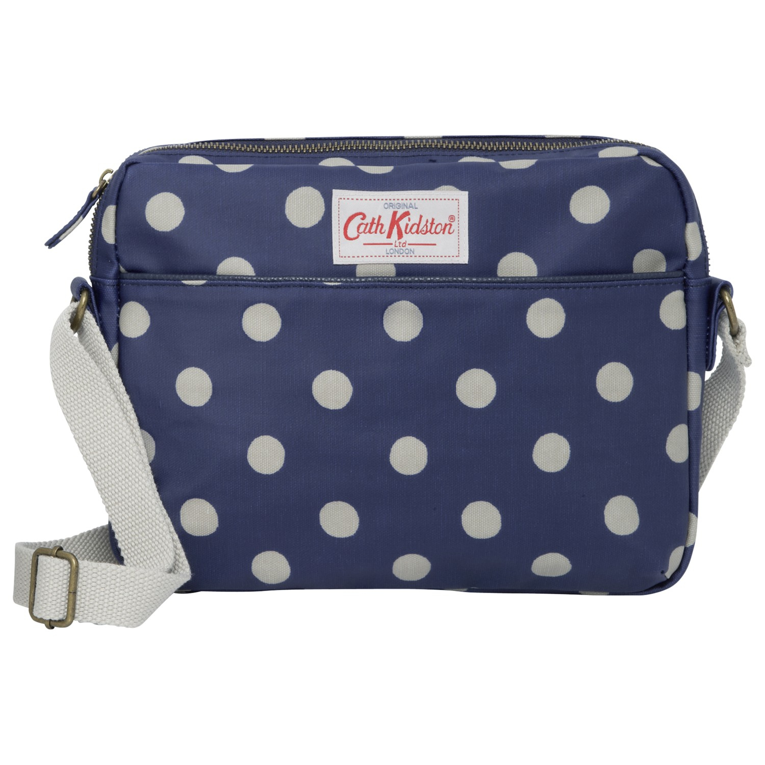 cath kidston button spot bag for in blue royal blue