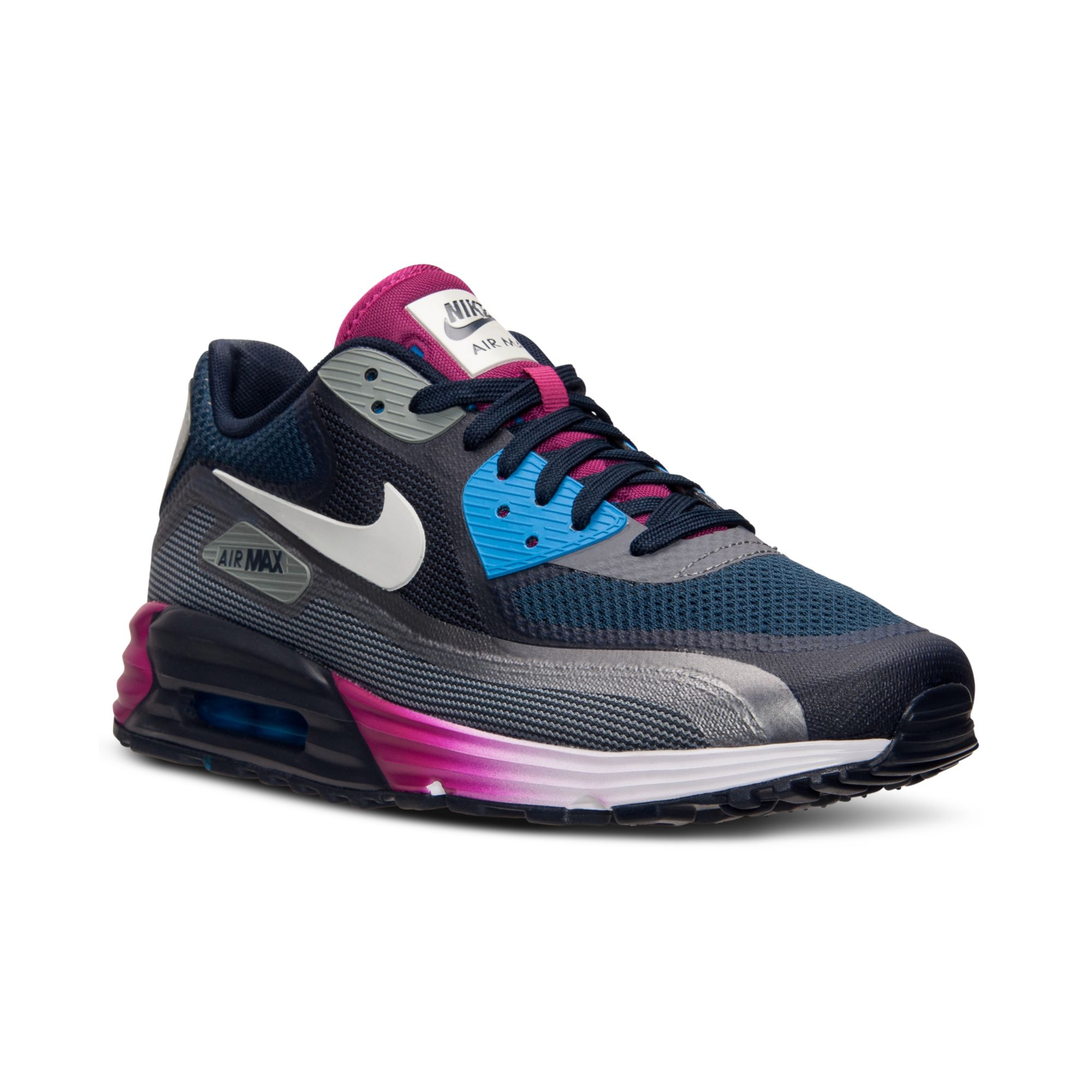 Nike Multicolor Mens Air Max 90 Lunar C30 Running Sneakers From Finish Line for men