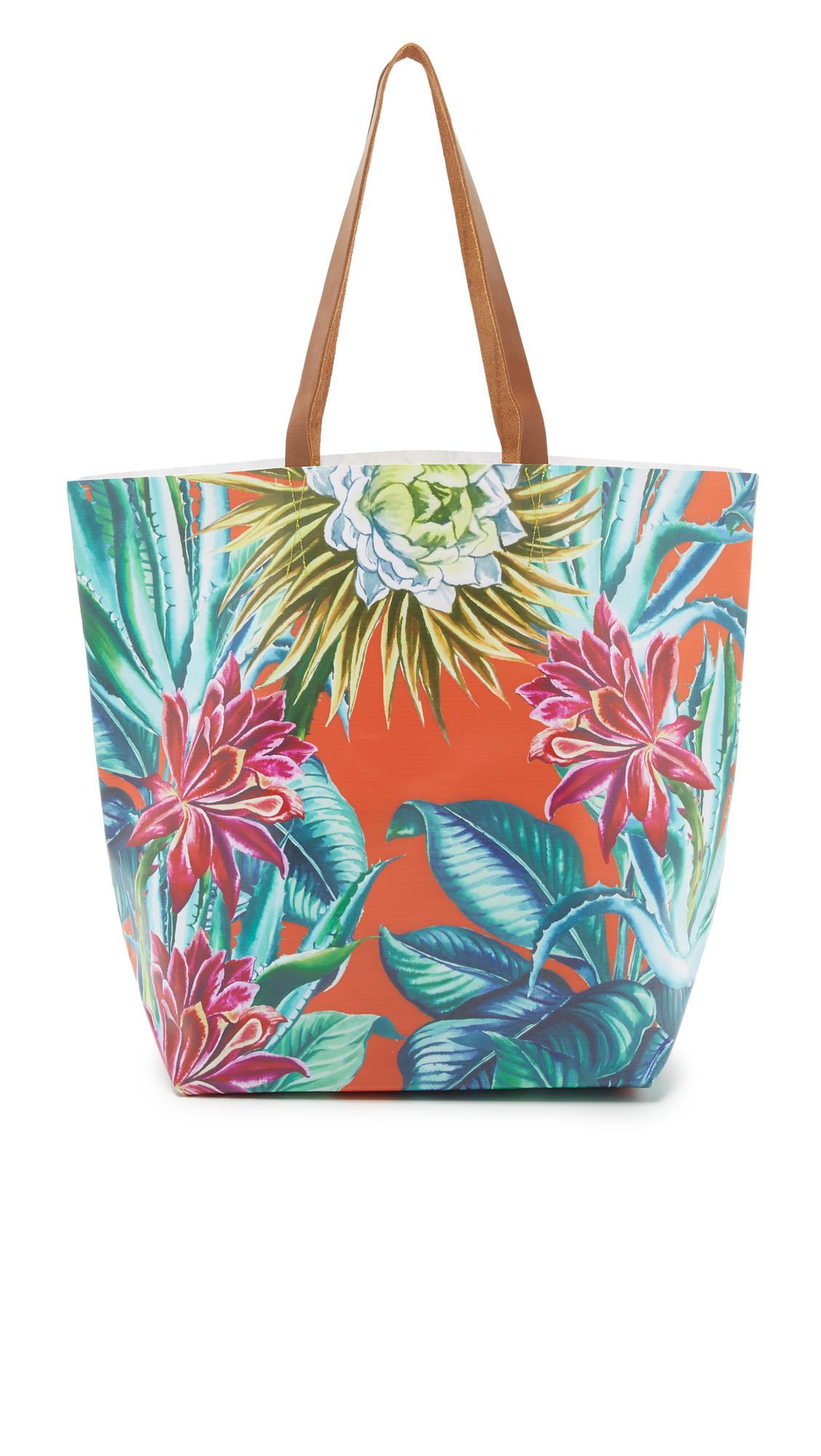 Mara Hoffman Womens Floral Tote