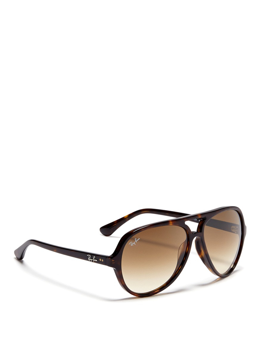 Ray Ban Tortoise Aviator Sunglasses  ray ban tortoise plastic aviator sunglasses in brown for men lyst