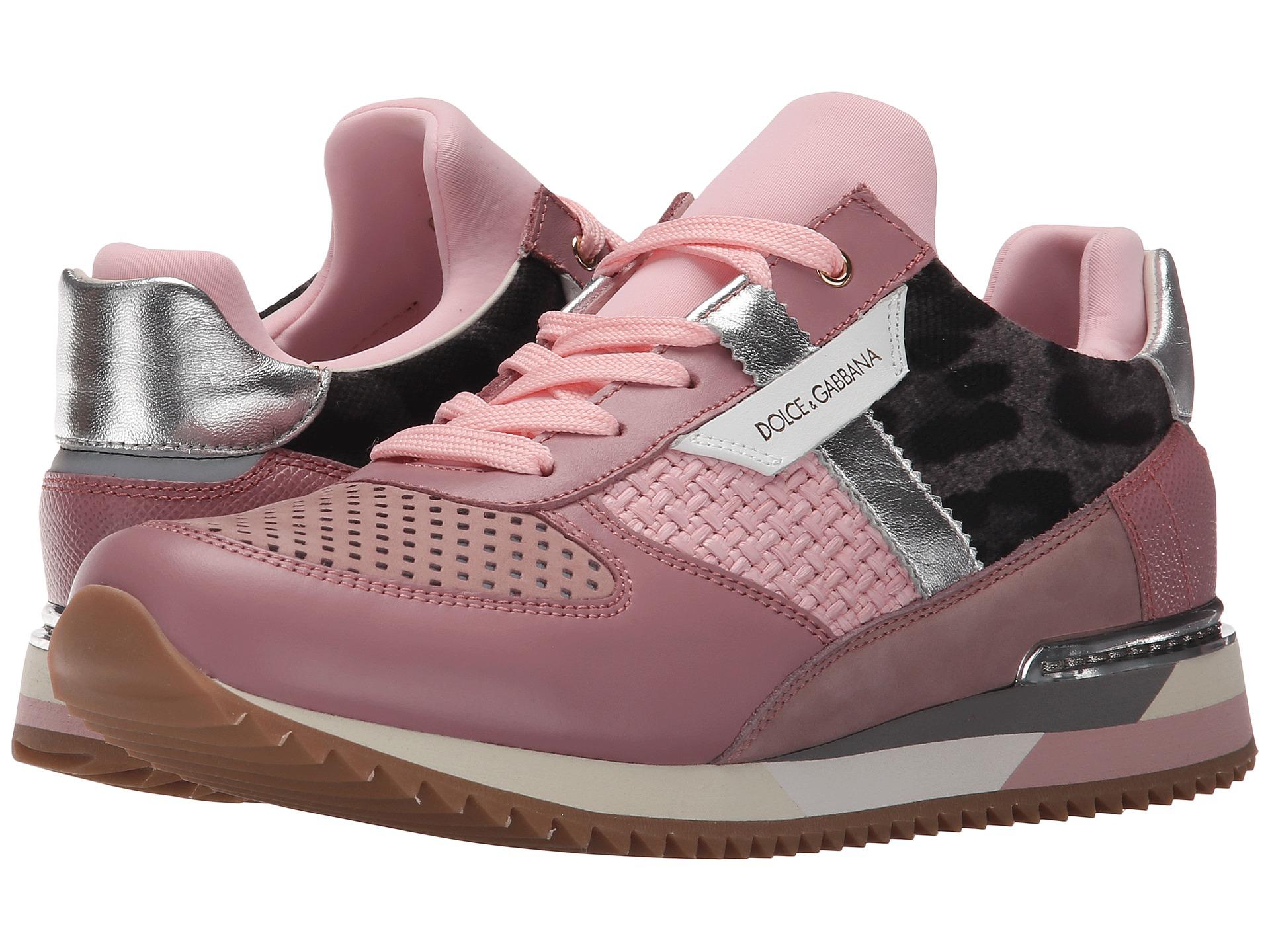 dolce gabbana sneaker in pink lyst. Black Bedroom Furniture Sets. Home Design Ideas