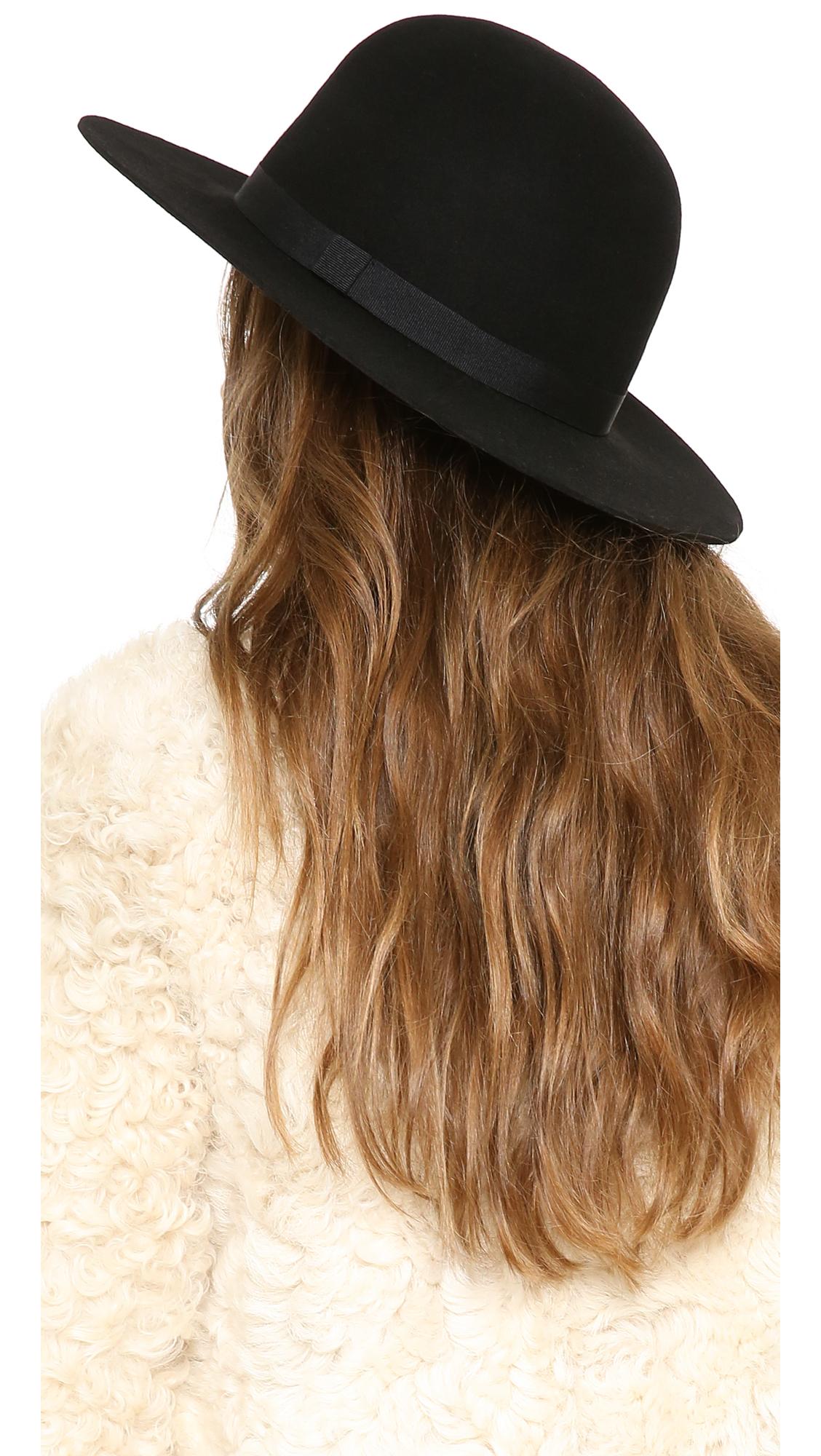 Lyst - Brixton Colton Hat in Black 4948d3fe476