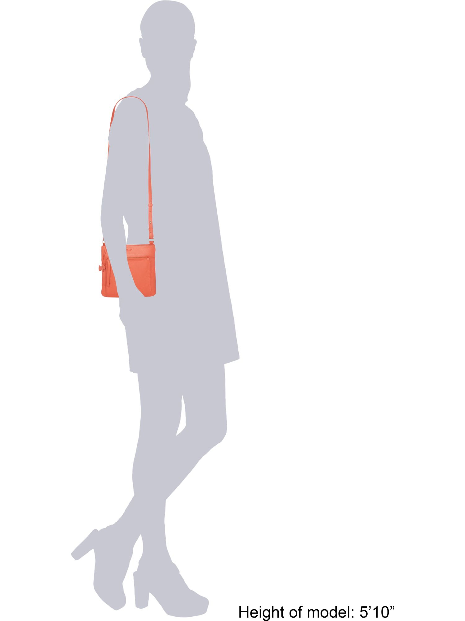 Radley Richmond Orange Small Crossbody Bag