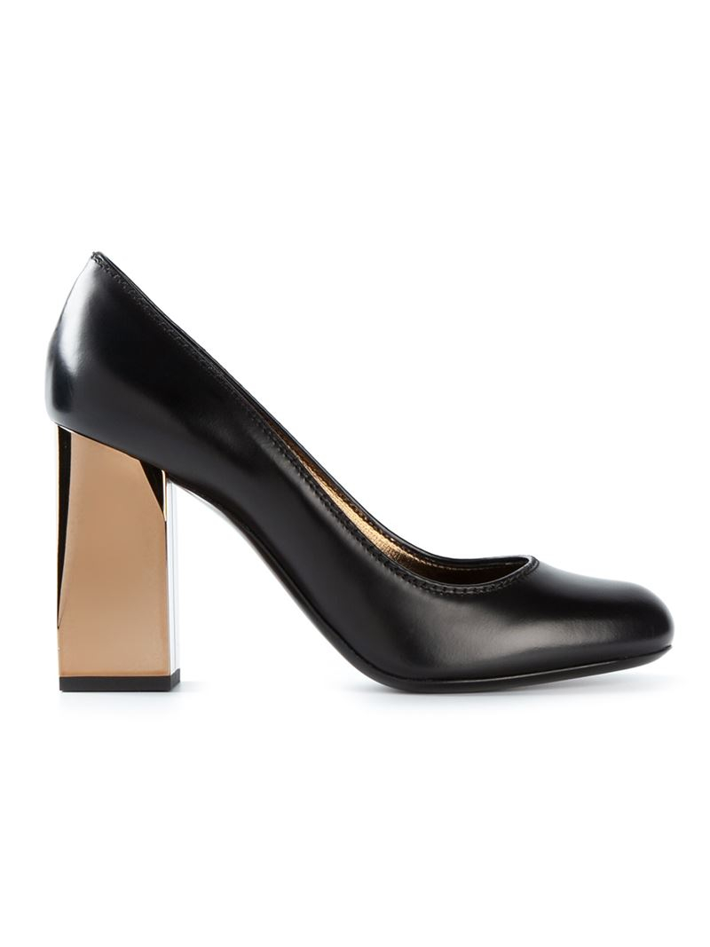 block heel pumps - Black Lanvin AeFhE