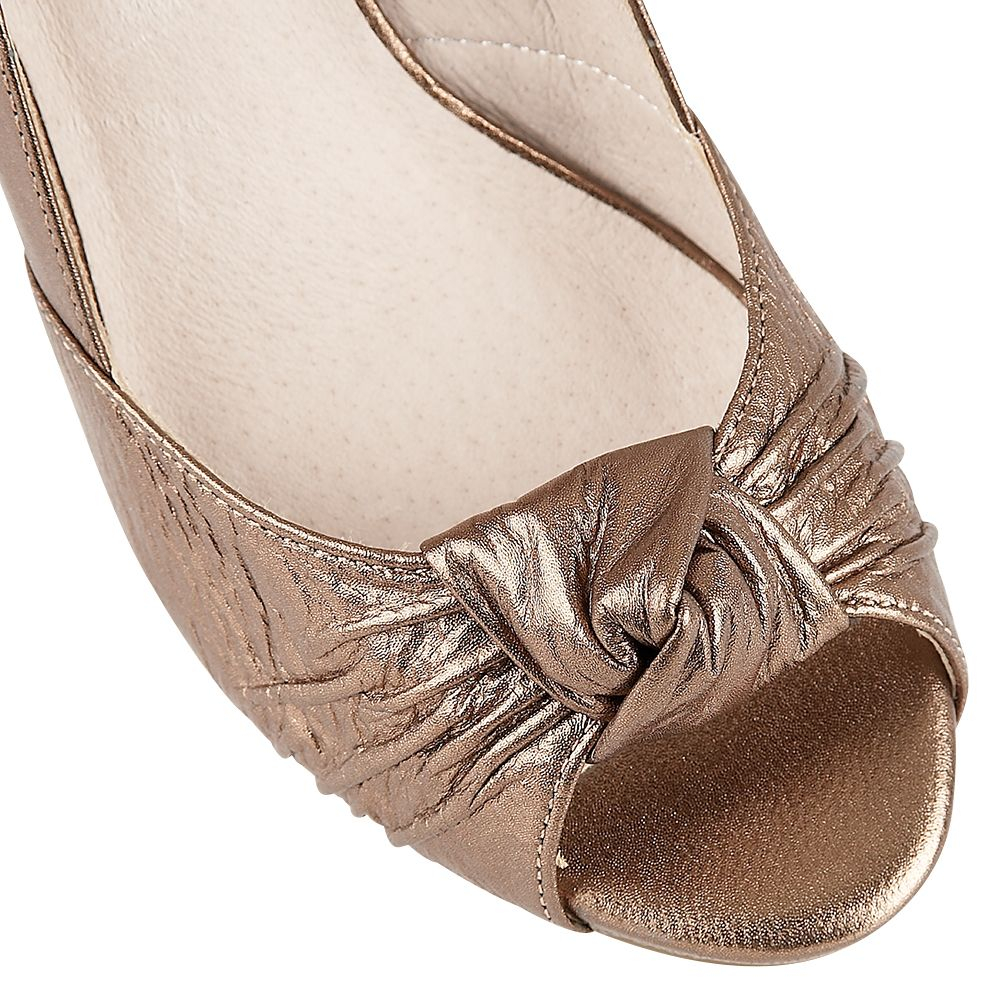 lotus formal shoes in gold bronze lyst