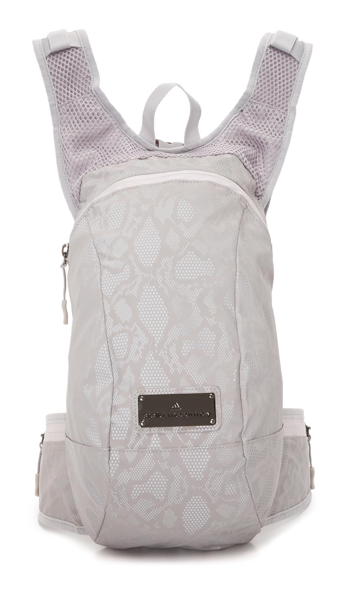 Lyst - adidas By Stella McCartney R Backpack in Metallic 09ddf0ec03