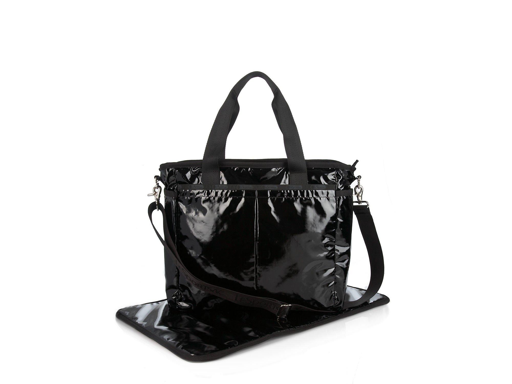 Lesportsac Ryan Diaper Bag In Black