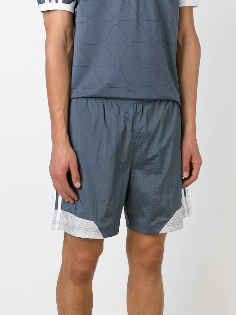 365ee1f781396 Palace Adidas X Swim Shorts in Gray for Men - Lyst
