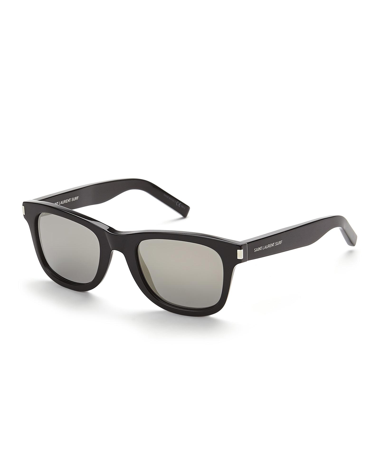 Saint Laurent Eyewear chunky frame wayfairer sunglasses Buy Cheap Finishline 8llFY