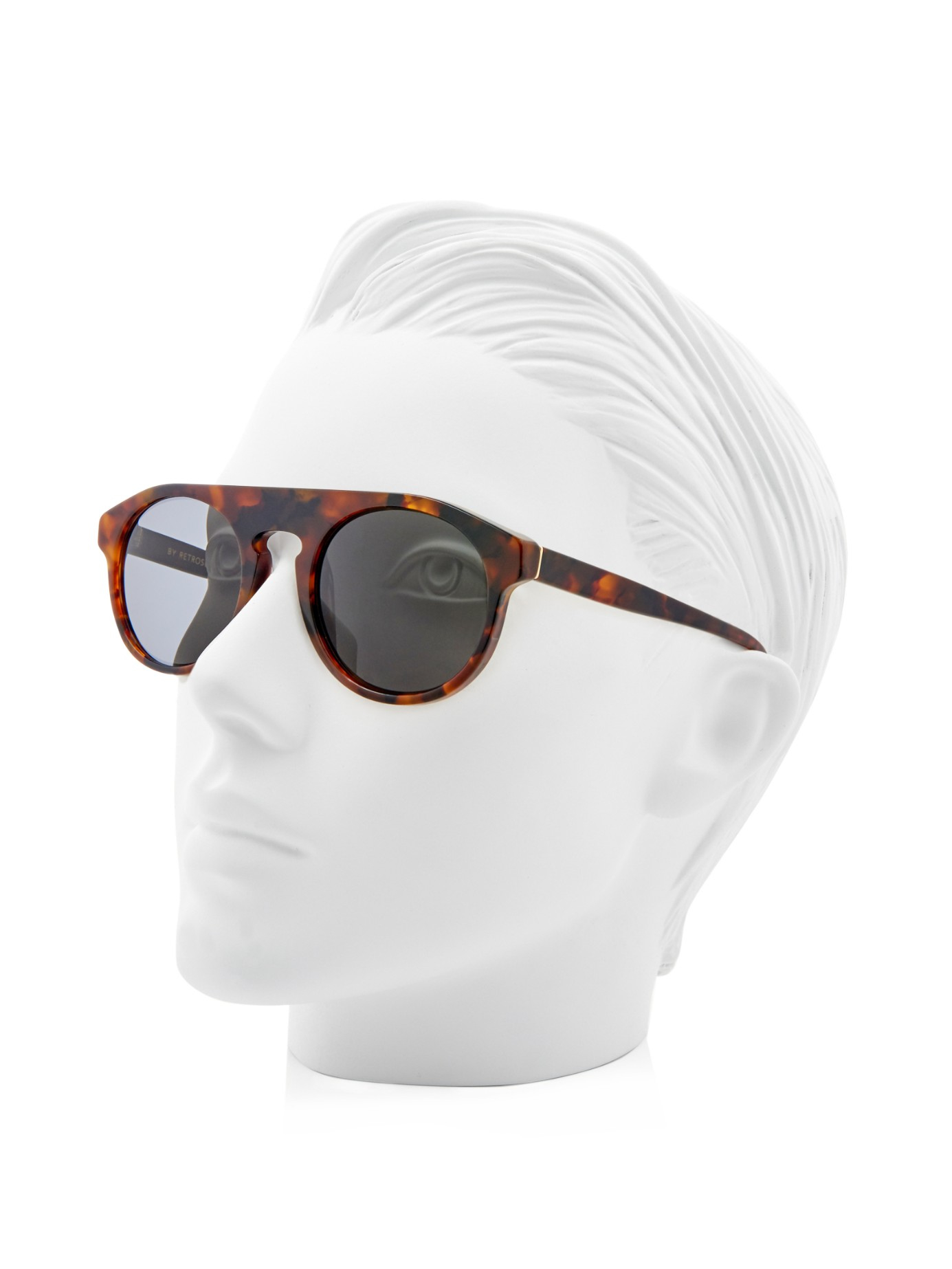 Retrosuperfuture Racer Sunglasses in Brown
