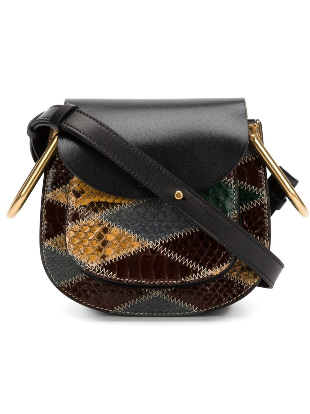 chloe handbags shop online - Chlo�� Mini 'hudson' Shoulder Bag in Black | Lyst