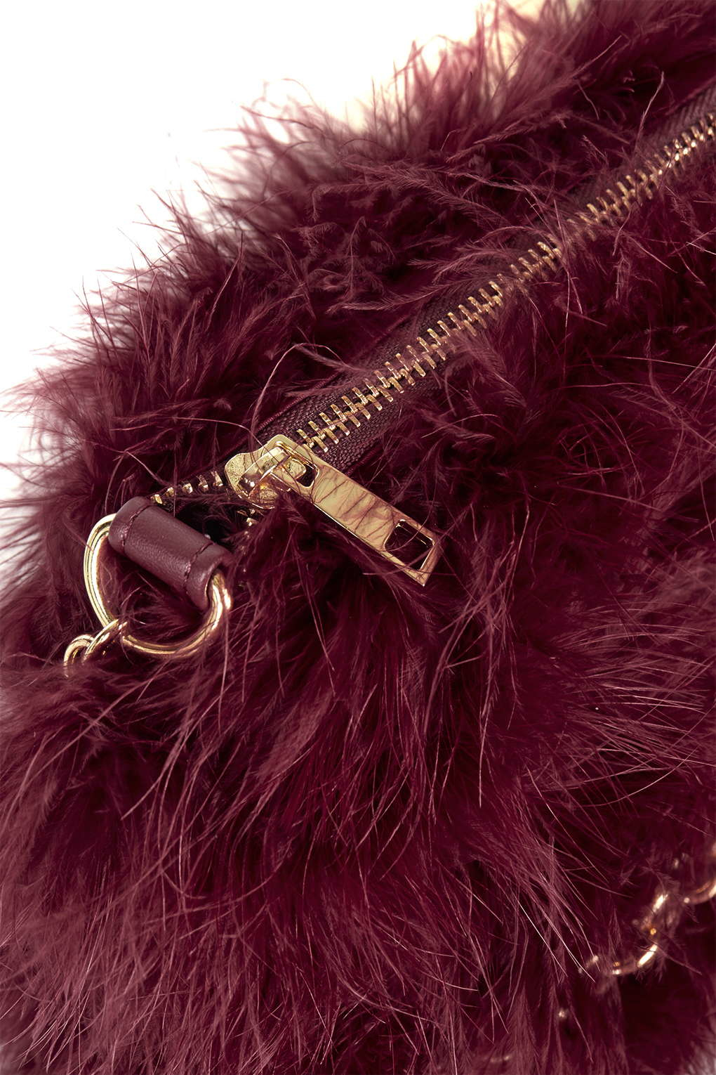 TOPSHOP Real Feather Marabou Bag in Purple - Lyst 8f04c682af541
