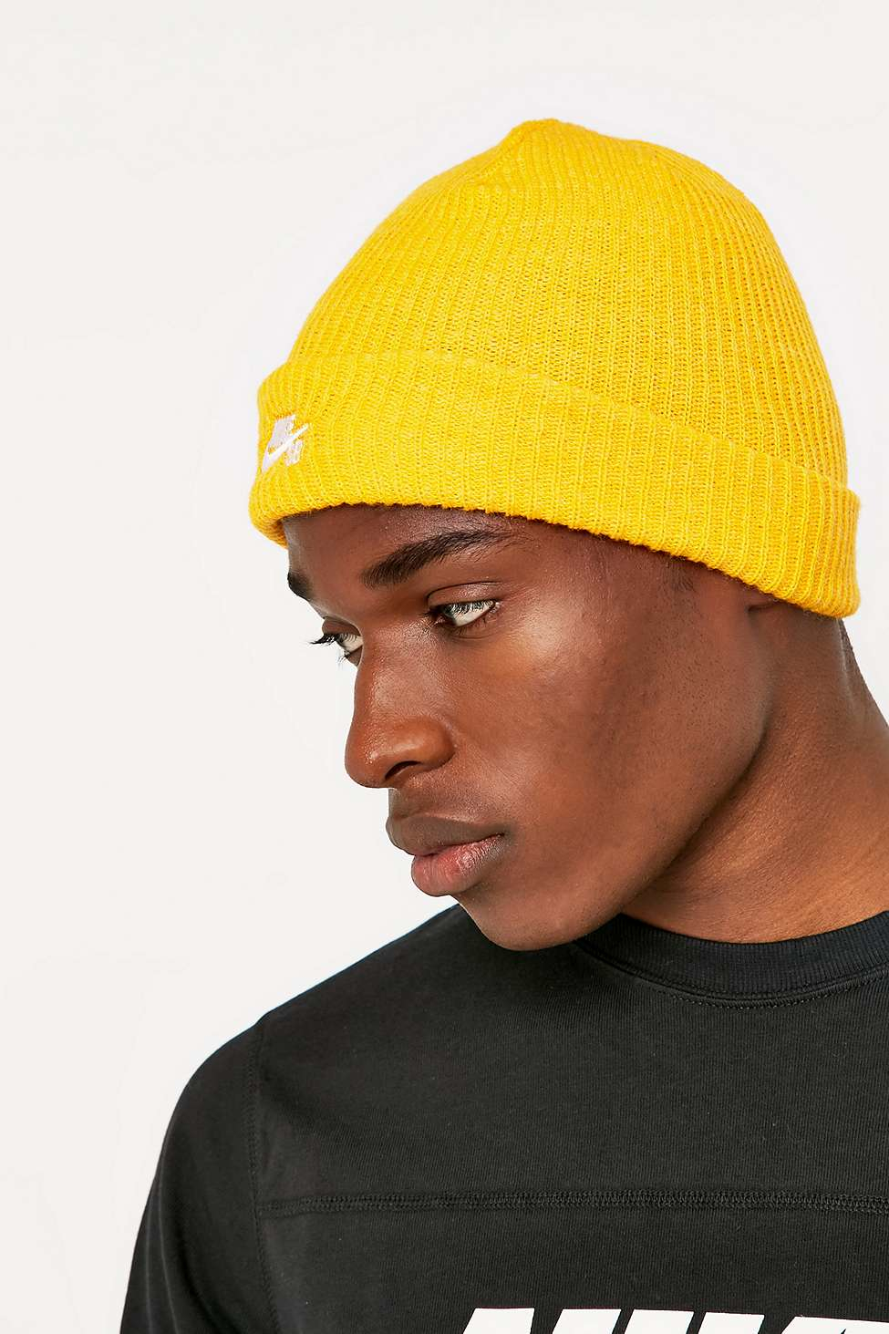 spain new nike sb fisherman cap 2063c dd4da  coupon for lyst nike fisherman yellow  beanie in yellow for men fb869 b065d 5b3a5049070