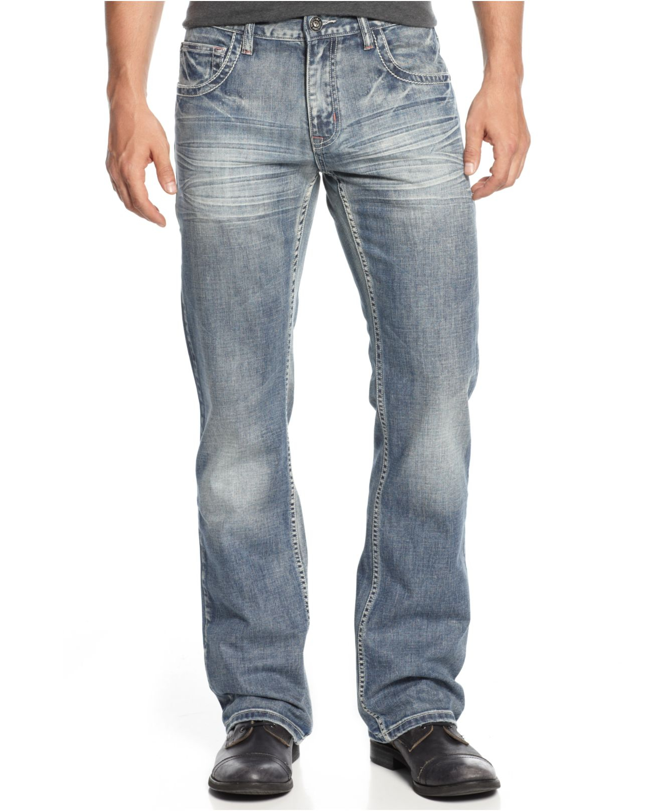 Inc international concepts Lennix Copenhagen Modern Boot Cut Jeans ...