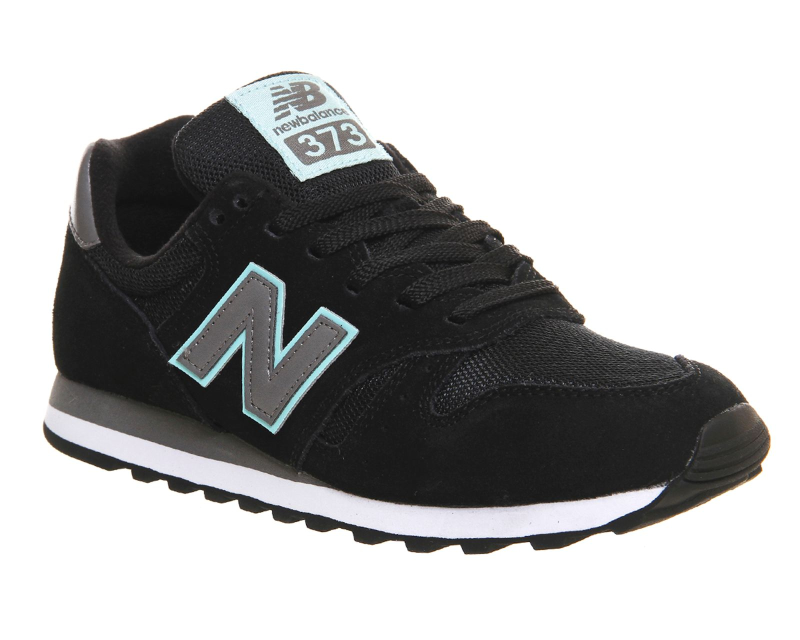 new balance ml373 trainers in black lyst. Black Bedroom Furniture Sets. Home Design Ideas