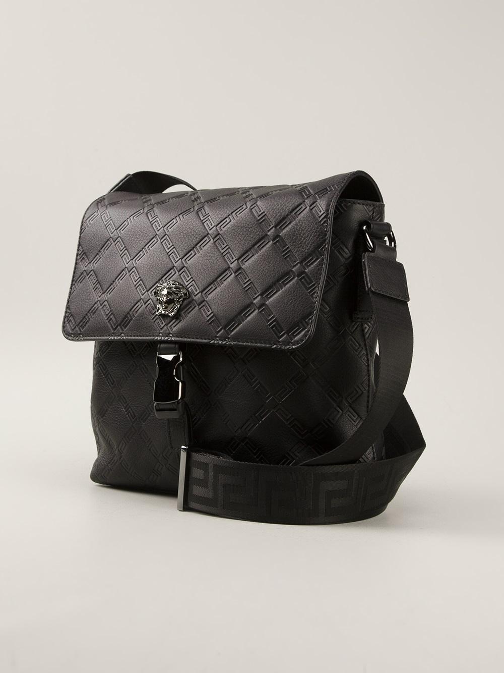 Versace Black Shoulder Bag 91