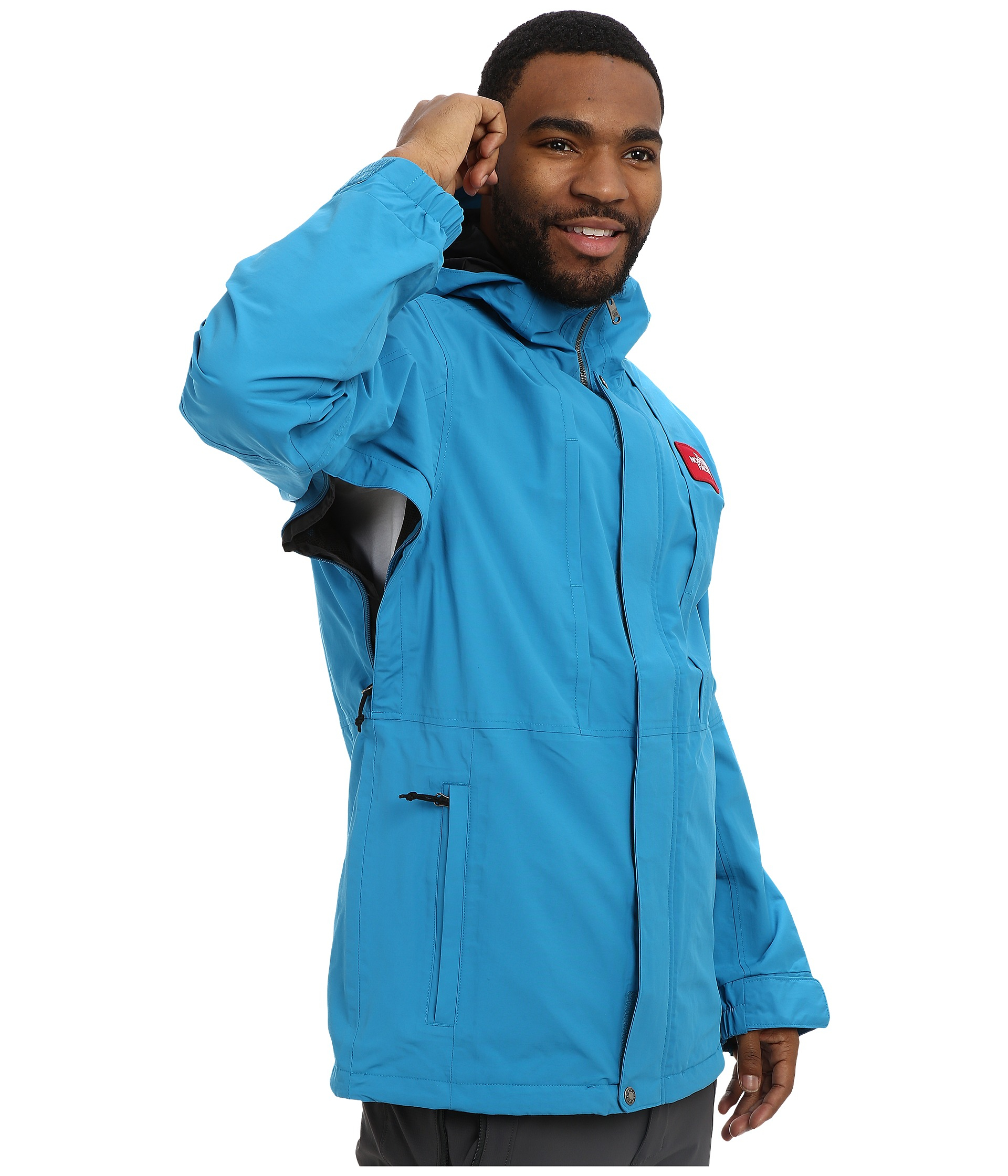 af42326a9938 Lyst - The North Face Turn It Up Jacket in Blue for Men