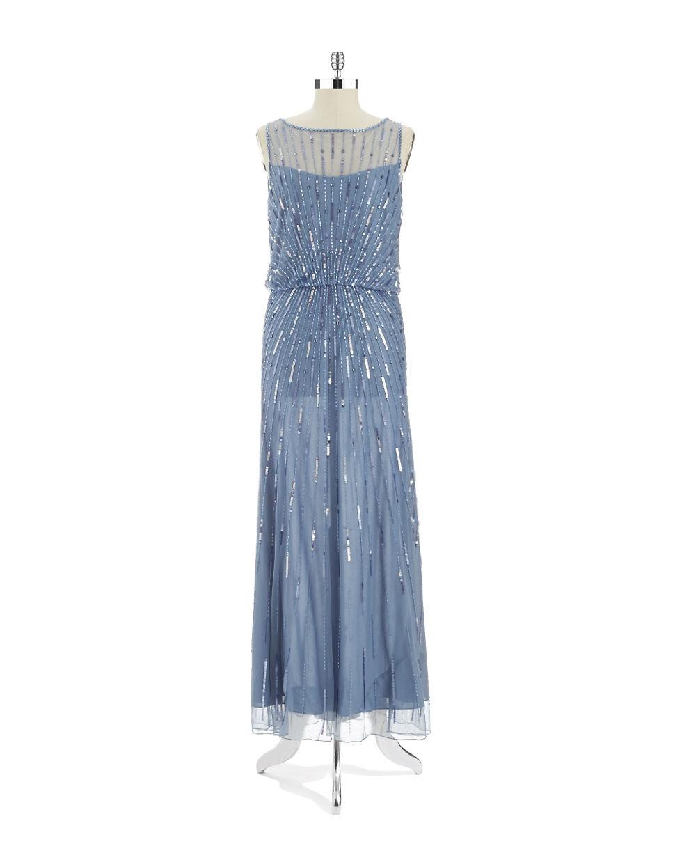 J Kara Sequin Gown