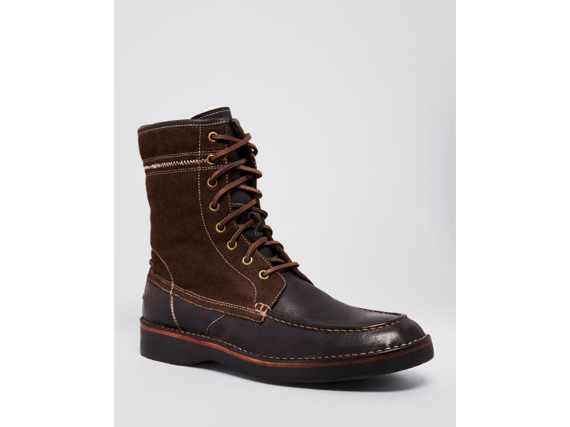 john varvatos star usa hipster leather winter work boots