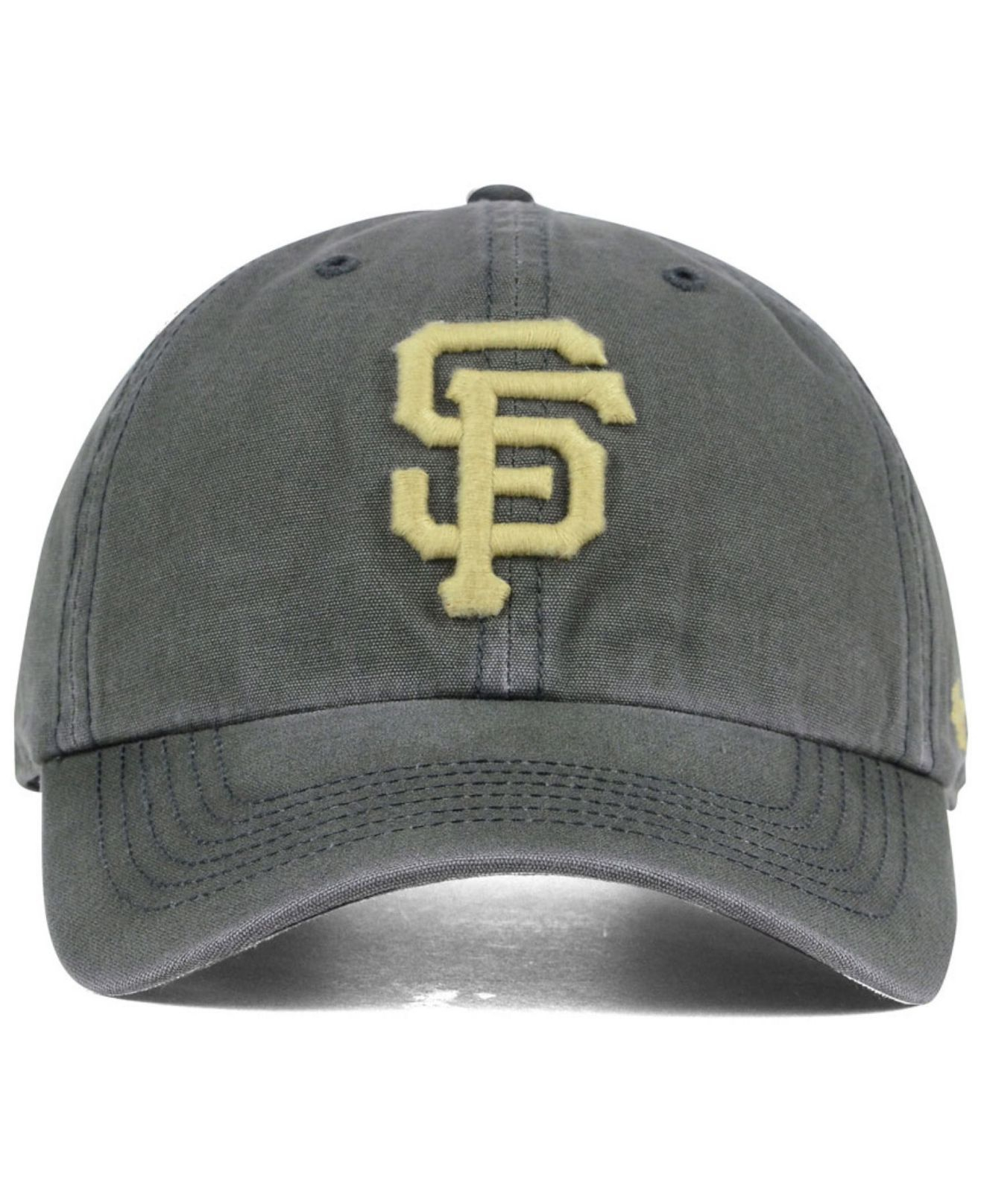 new concept f3970 c75e5 47 Brand San Francisco Giants Stillwater Clean Up Cap in Gray for ...