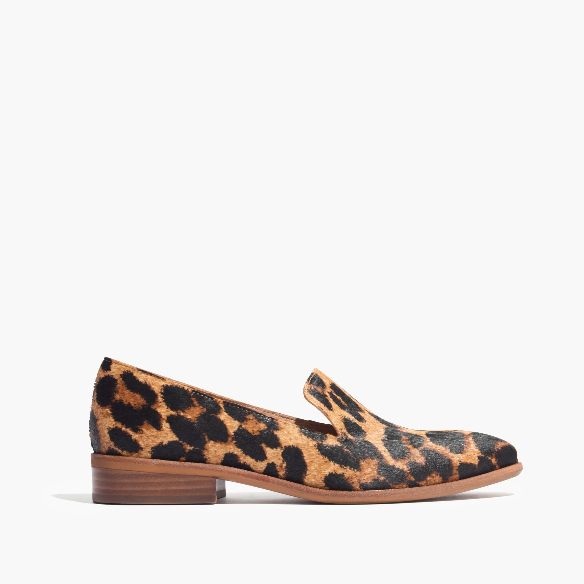 468ee3c577d Lyst - Madewell The Orson Loafer In Leopard Print