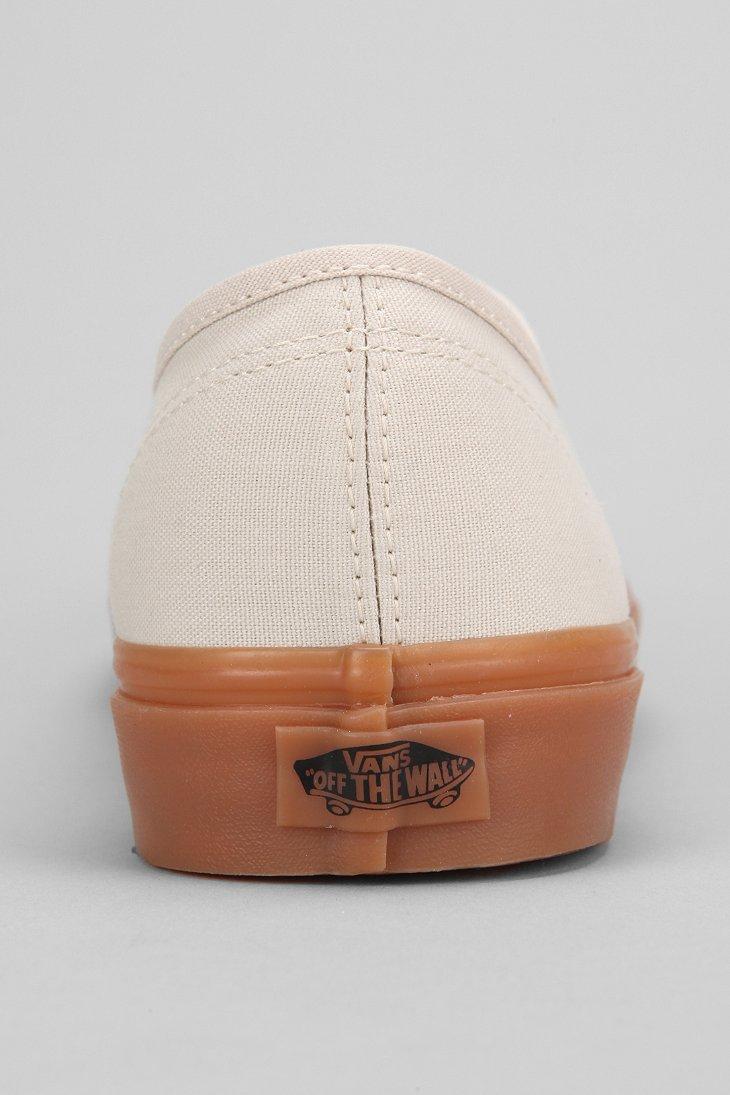 Vans Authentic Gum-Sole Sneaker in Nude (Natural) for Men - Lyst