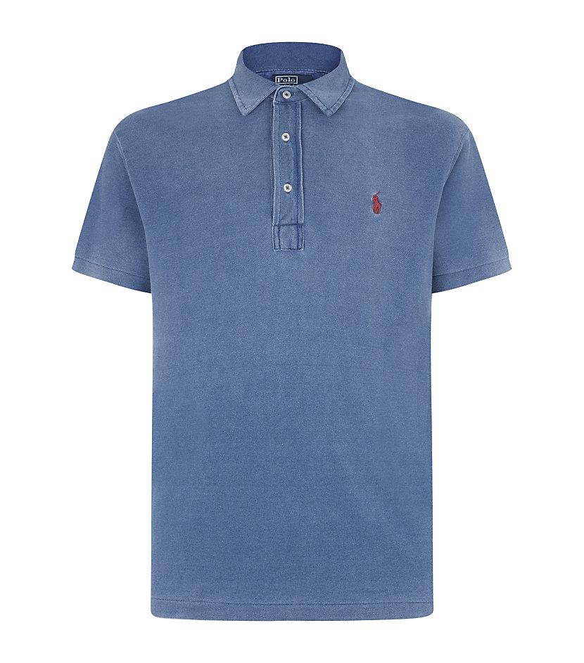 Polo ralph lauren featherweight mesh custom fit polo shirt for Polo ralph lauren custom fit polo shirt
