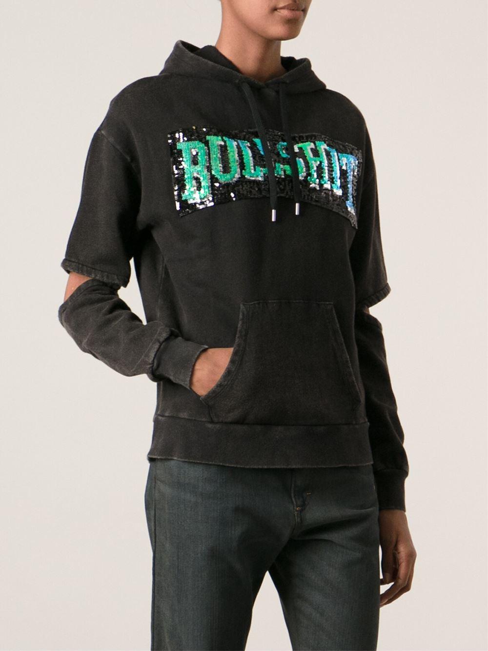 Sequin hoodies
