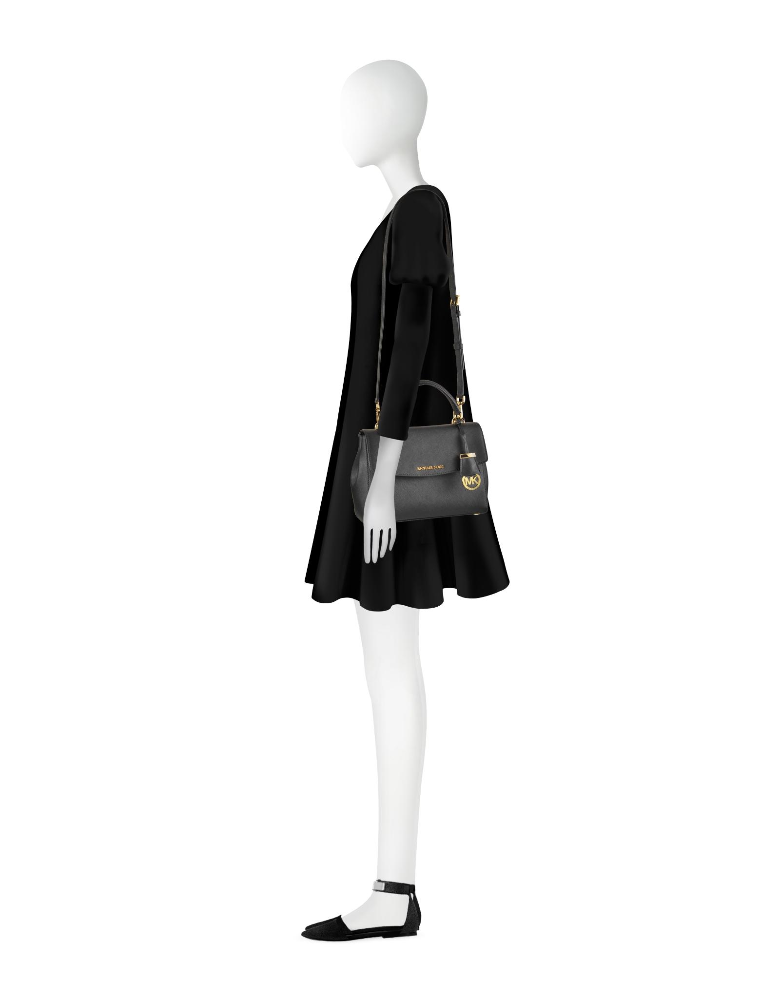 black saffiano leather bag